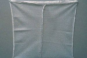 laundry net made from polyester