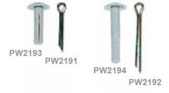 split pins stainless steel 25 mm huck