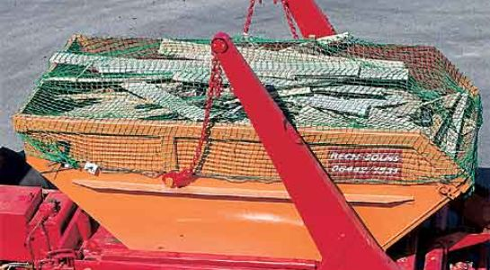 Skip covering nets, qualitiy of 2.3 mm Polypropylene